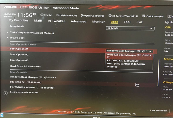 Detail Steps to Clean Install Windows 10 on A New SSD