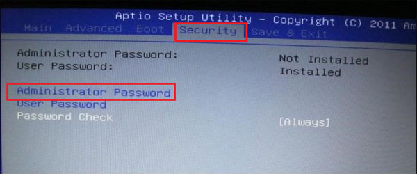 bios password reset tool hp