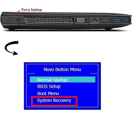 2 Ways to Hard Reset Lenovo Laptop to factory settings without password