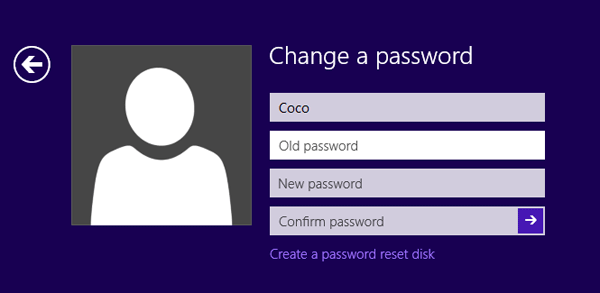 clear password from windows 8