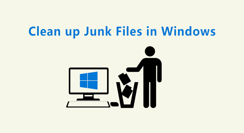 clean up jun files in Windows