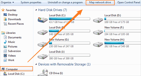 How to Map a New Network Drive in Windows 10/7 Map Network Drive Windows on map windows network icons, map webdav windows, map network drive windows mobile, disconnected network drive windows 7, map network folder windows 7, xp map drive windows 7, map computer drive, map network drive harden portal, ftp drive letter windows 7, character map windows 7, map of blue ridge parkway and skyline drive, map network drive windows 10, cannot map drive windows 7, home network windows 7,