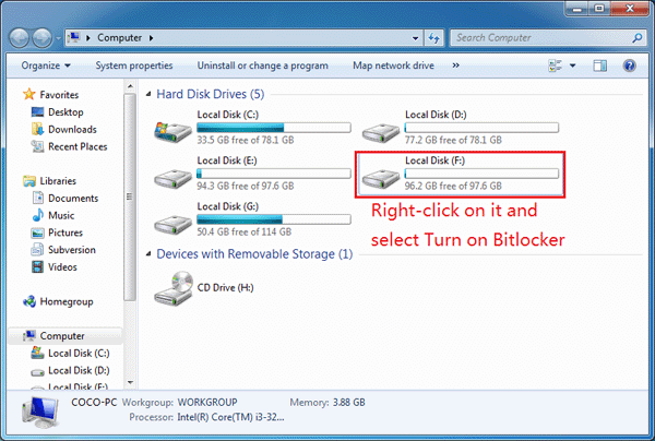 d drive lock software free download