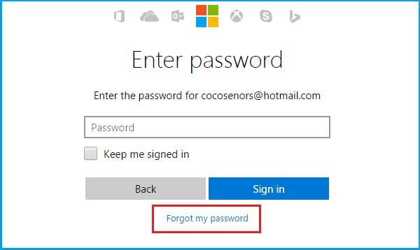 forgot password windows 7 lenovo thinkpad