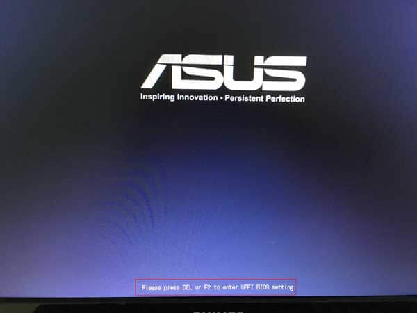 how to boot from usb drive asus laptop