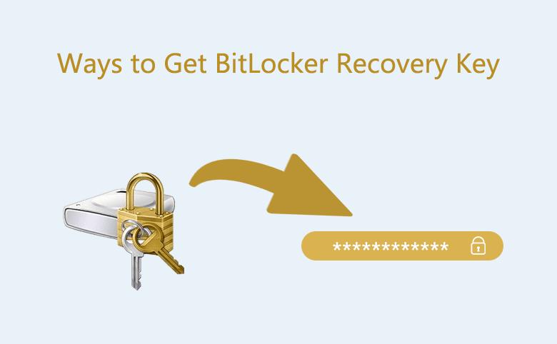 Ways to Get BitLocker Recovery Key
