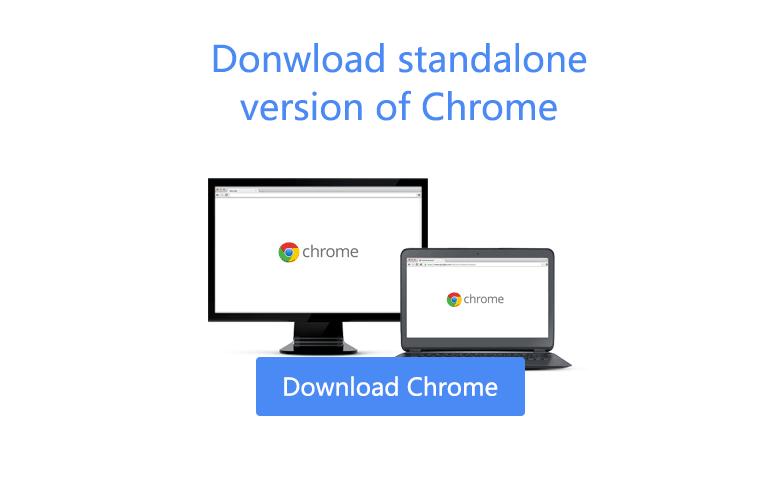 chrome standalone download