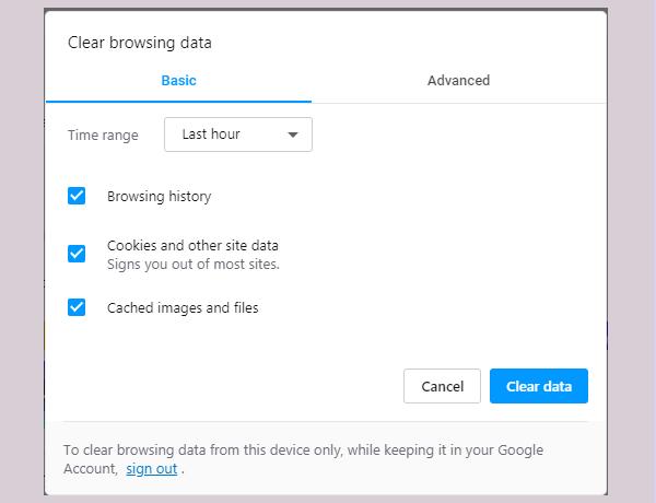 opera browser history