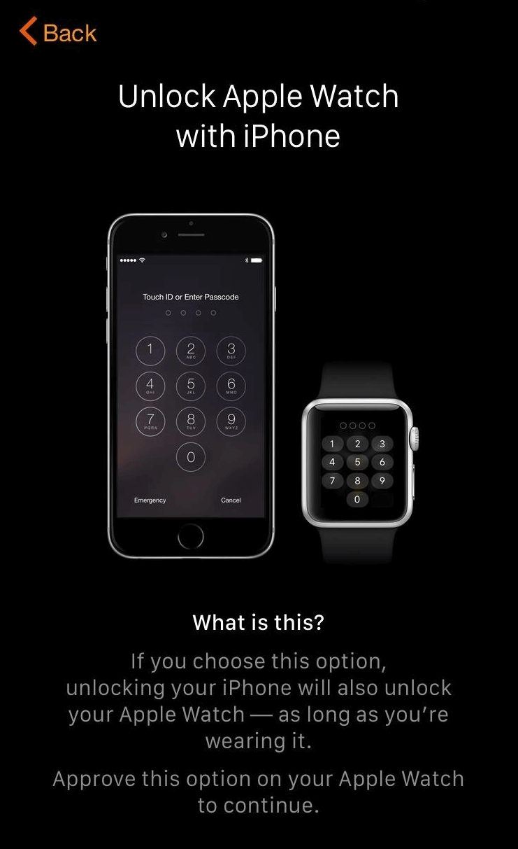 unlocking ipad with apple watch