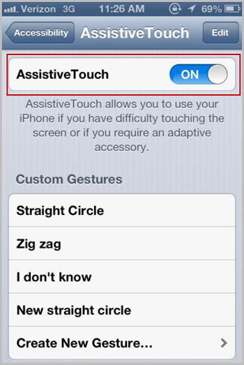 turn on assistivetonch