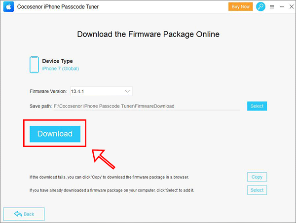 firmware package iphone