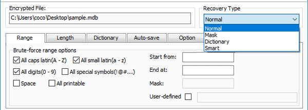 How to Change/Reset MS Access Database Password