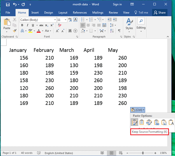 how to change the data of a document on excel