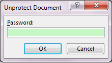 word how to make a document read only
