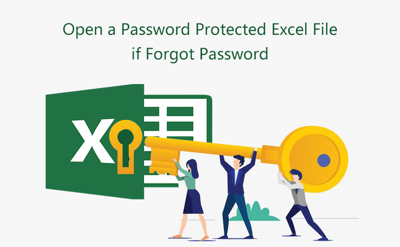 How to Open a Password Protected Excel File if Forgot Password