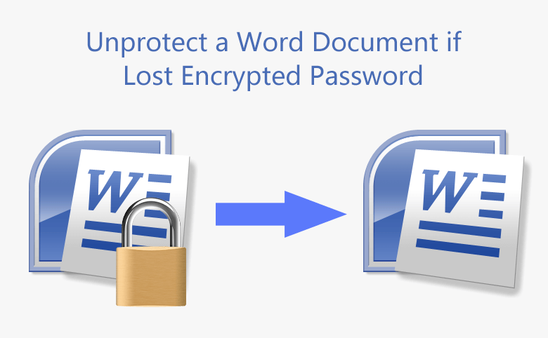 How to Unprotect a Word Document if Lost Encrypted Password