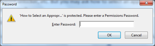 How to Remove Watermark From A Security Protected PDF