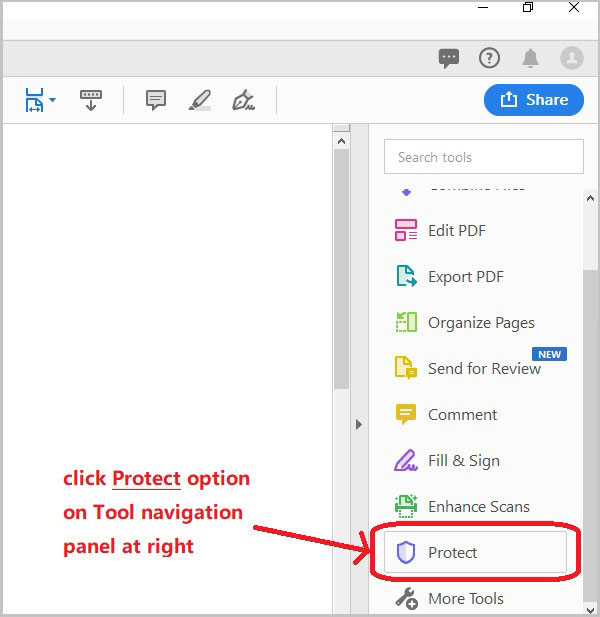 Teach Beginner How To Password Protect A PDF Document From