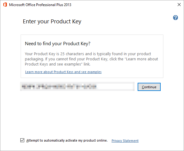 activate ms office 2013 professional plus without product key
