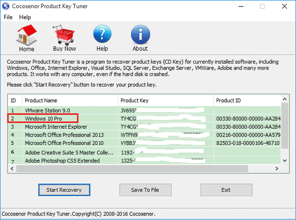 how to recover product key windows 7