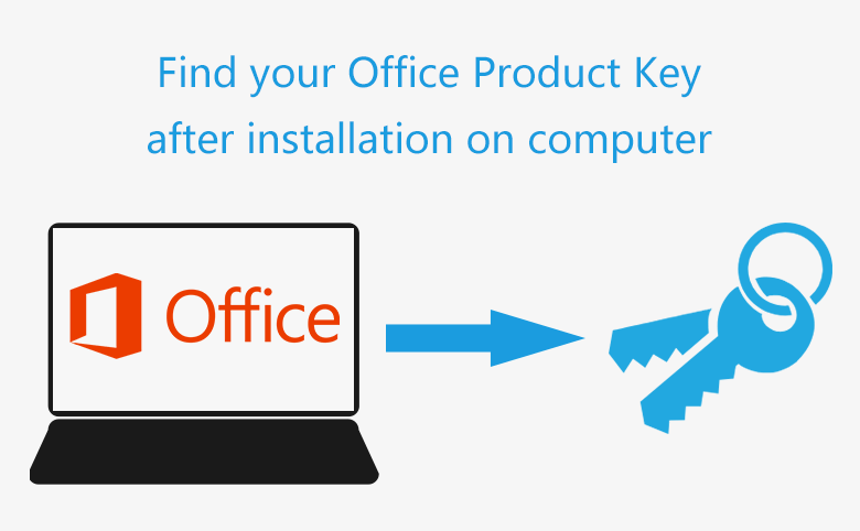 How to Find Your Office Product Key after Installation on