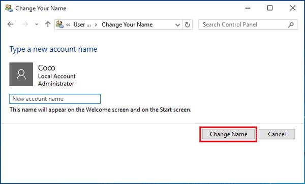 switch to administrator login windows 10
