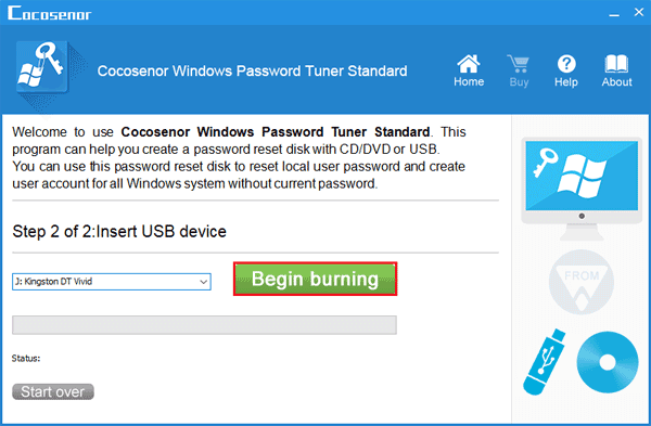 create a password recovery disk windows 10
