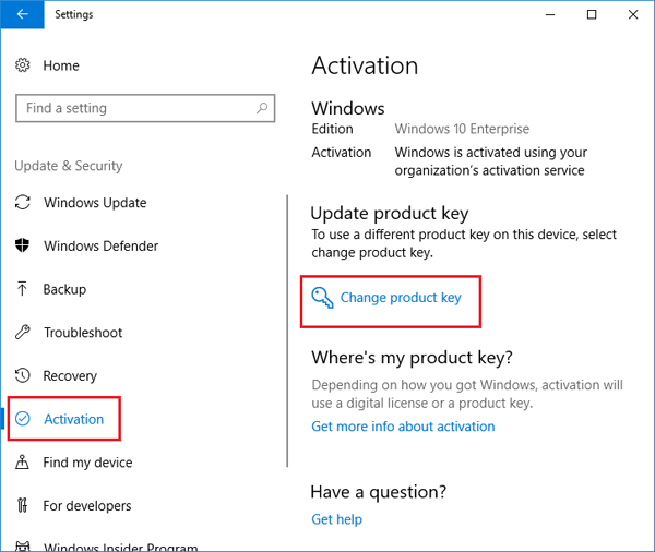 4 Ways to Change Product Key to Activate Windows 10