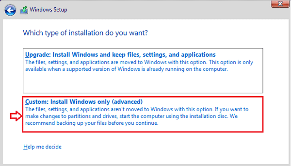 how to make a clean install of windows 10