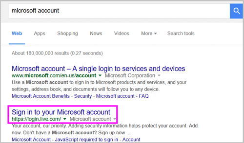 how to find password for microsoft account