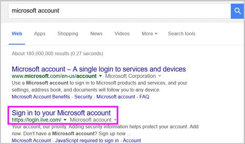 account microsoft  com