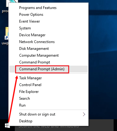 run command prompt as system windows 10