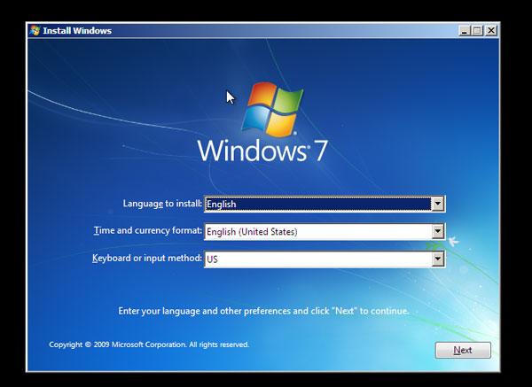 setup system administrator windows 7