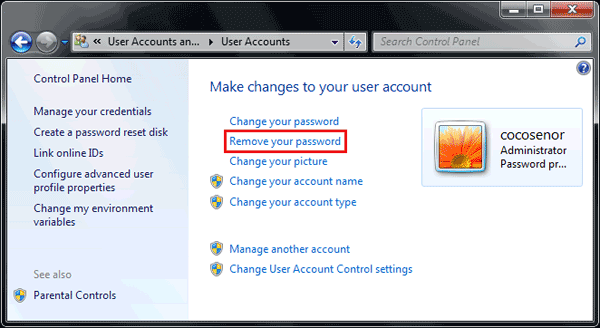 how do i find my administrator password for my computer