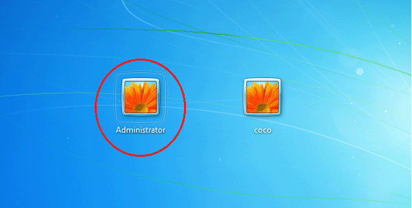 how to unlock administrator account without password