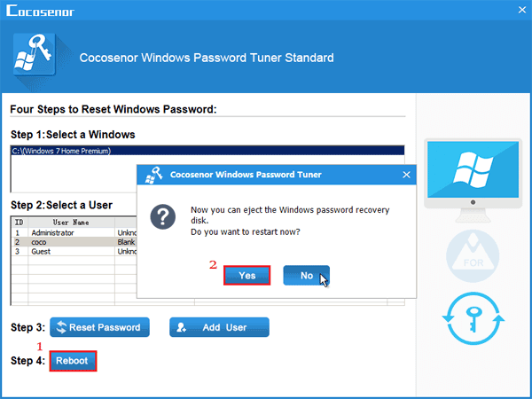 how to bypass password in safe mode windows 7