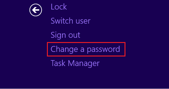 how to reset windows password windows 8.1