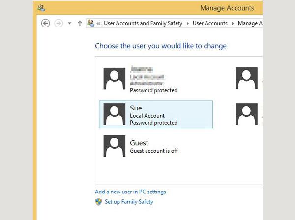 bypass windows 8 login password