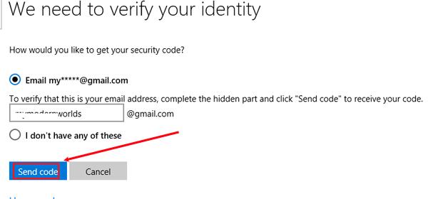 How to Reset Microsoft Account Password in Windows 8