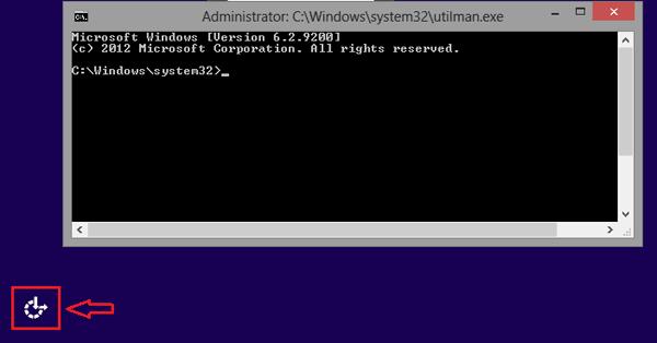 windows 8 forgot password utilman