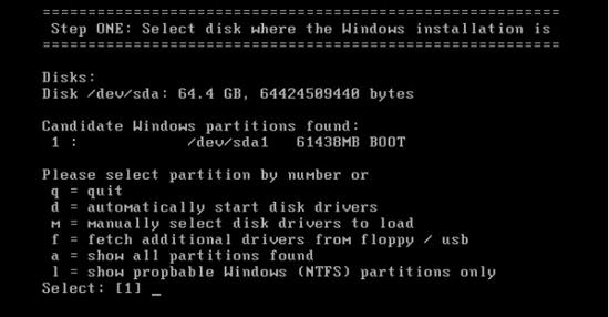 free windows server password reset tool