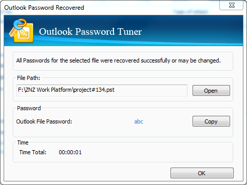 outlook 2007 pst password recovery tool free download