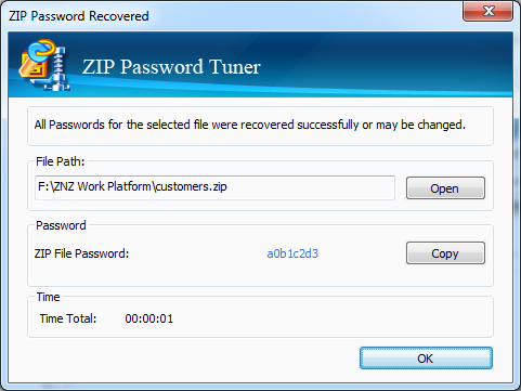 Cocosenor ZIP Password Tuner – A Professional ZIP Password
