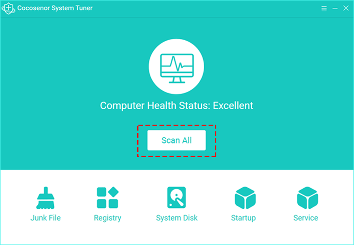 Cocosenor System Tuner full screenshot