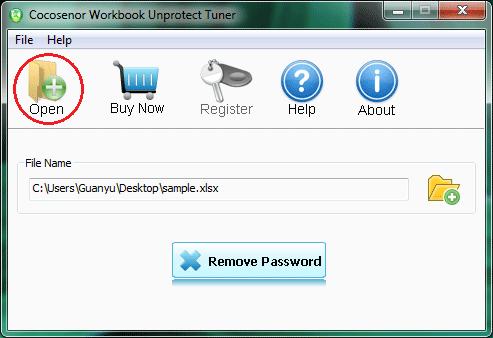 Windows 7 Cocosenor Workbook Unprotect Tuner 3.1.0 full